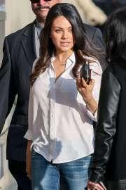 Mila Kunis White Shirt