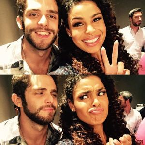 Thomas Rhett and Jordin Sparks